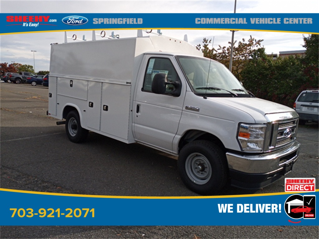 2021 Ford E-350 4x2, Knapheide Service Utility Van #GC22247 - photo 1