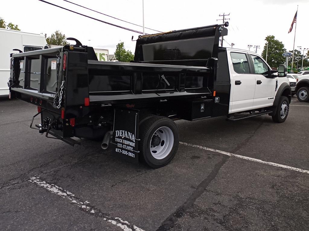 2021 Ford F-450 Crew Cab DRW 4x4, Rugby Dump Body #GC23213 - photo 1