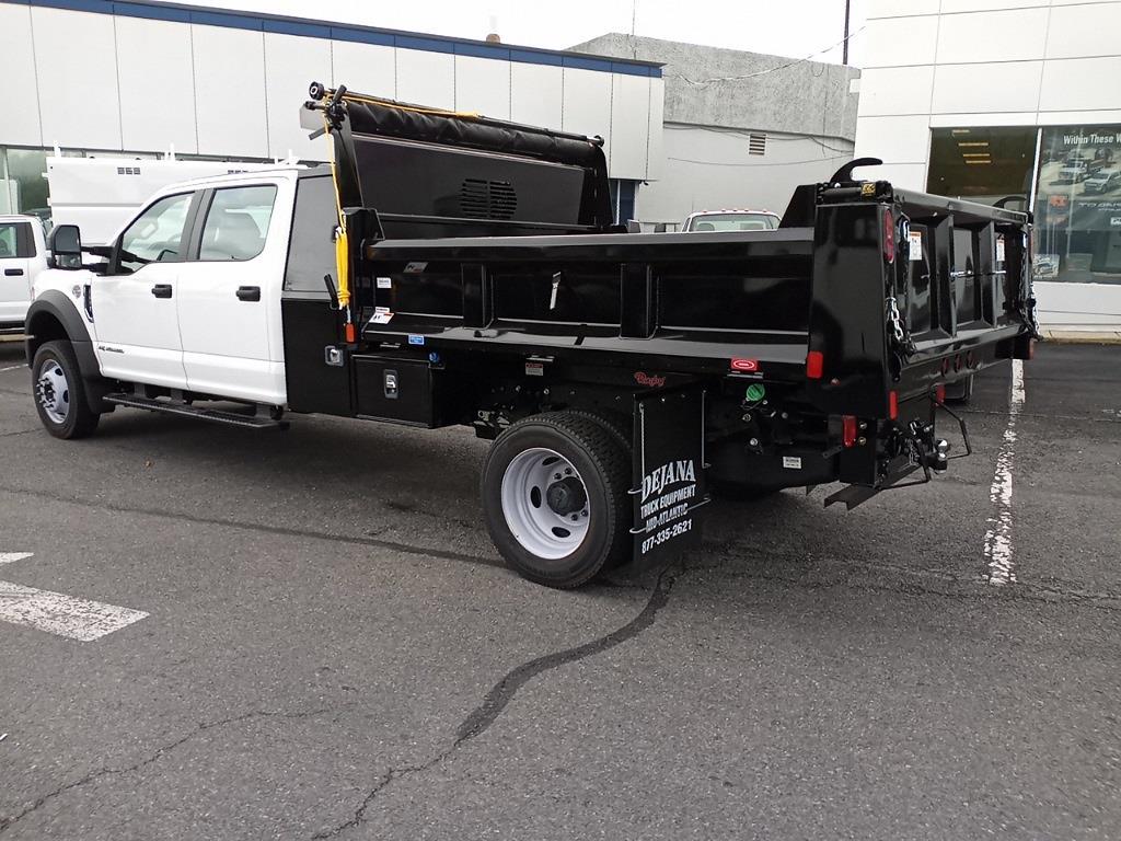 2021 Ford F-450 Crew Cab DRW 4x4, Rugby Eliminator LP Steel Dump Body #GC23213 - photo 3