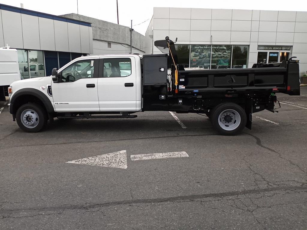 2021 Ford F-450 Crew Cab DRW 4x4, Rugby Eliminator LP Steel Dump Body #GC23213 - photo 6