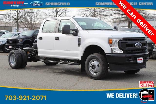 2020 Ford F-350 Crew Cab DRW 4x4, Cab Chassis #GC38008 - photo 1