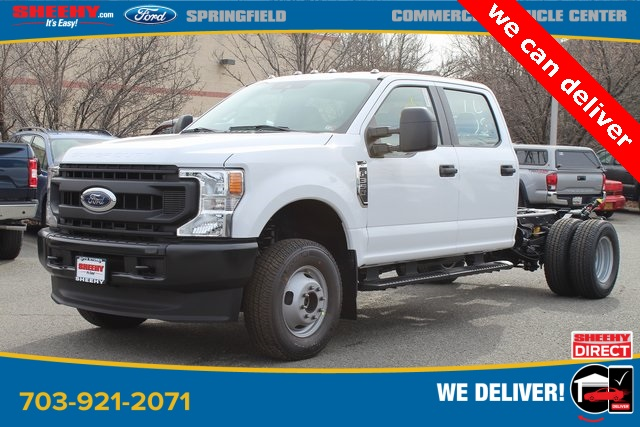 2020 Ford F-350 Crew Cab DRW 4x4, Cab Chassis #GC38008 - photo 3