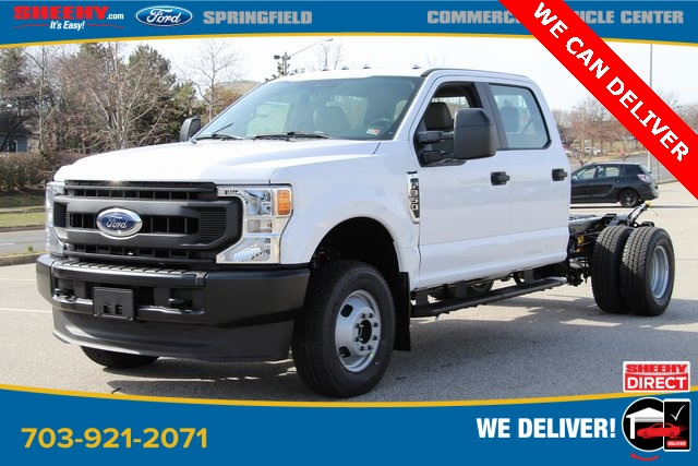 2020 Ford F-350 Crew Cab DRW 4x4, Cab Chassis #GC38010 - photo 3