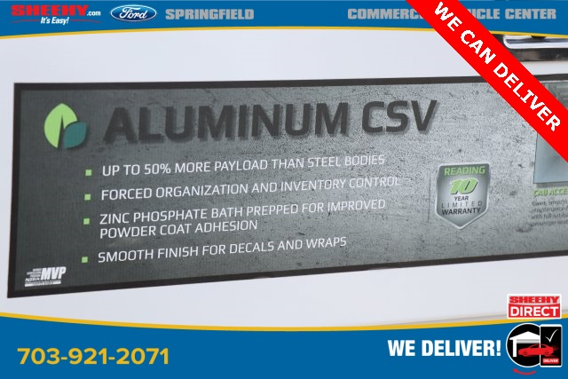 2019 E-350 4x2,  Reading Aluminum CSV Service Utility Van #GC41528 - photo 13