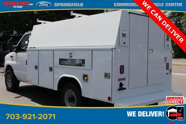 2019 Ford E-350 4x2, Reading Aluminum CSV Service Utility Van #GC41528 - photo 4