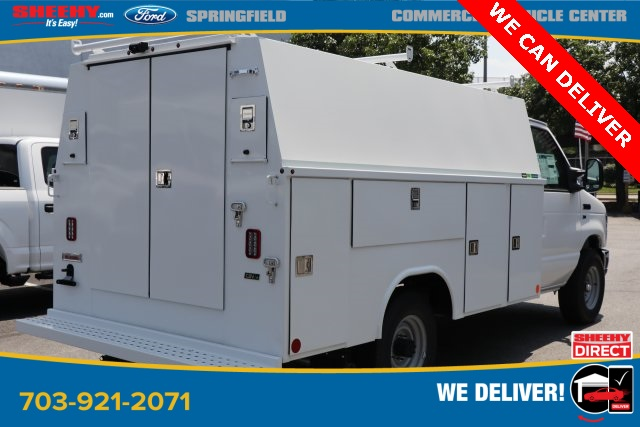 2019 E-350 4x2, Reading Service Utility Van #GC41528 - photo 1