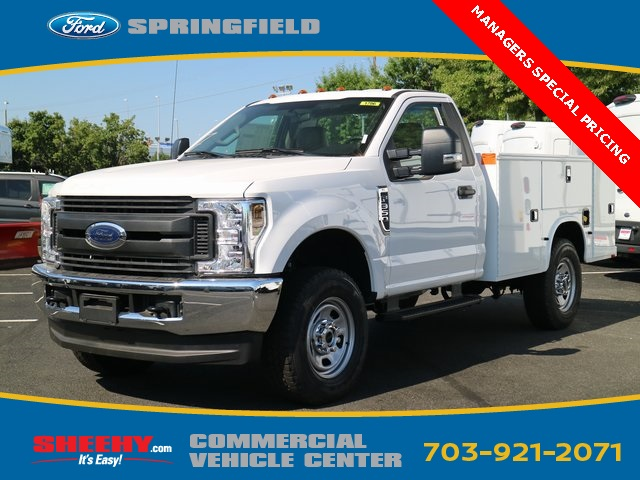 2018 F-350 Regular Cab 4x4,  Knapheide Service Body #GC49004 - photo 4