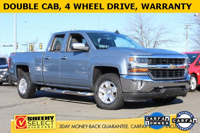 2016 Silverado 1500 Double Cab 4x4, Pickup #GC49114A - photo 1