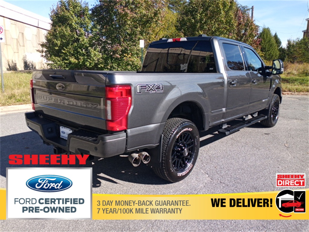 2020 Ford F-250 Crew Cab 4x4, Pickup #GD91698A - photo 2