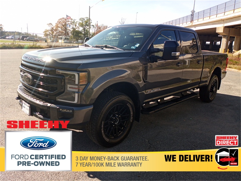 2020 Ford F-250 Crew Cab 4x4, Pickup #GD91698A - photo 4