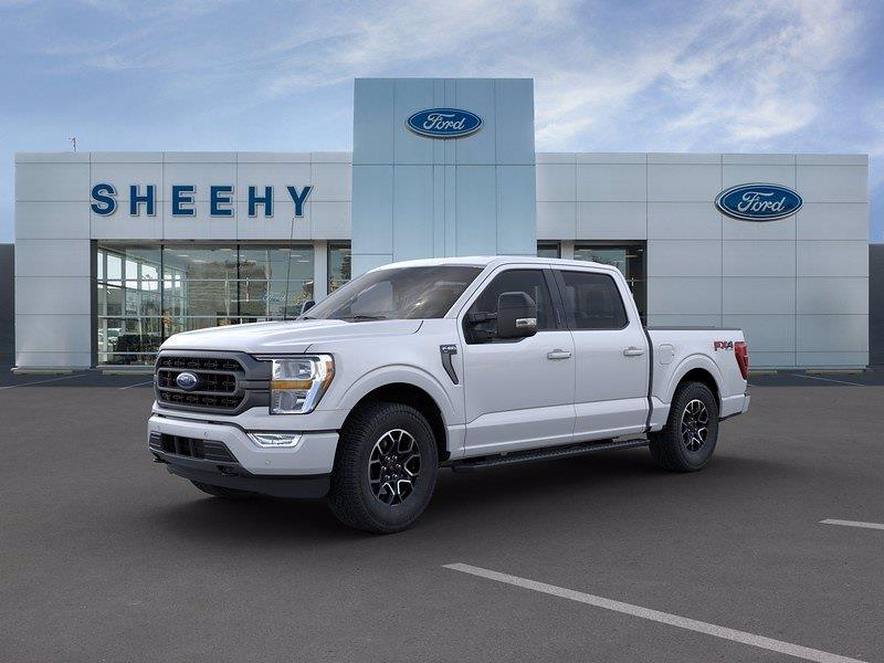 2021 Ford F-150 SuperCrew Cab 4x4, Pickup #GD01090 - photo 4