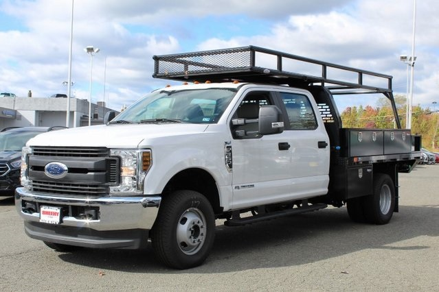 2019 F-350 Crew Cab DRW 4x4,  PJ's Platform Body #GD03616 - photo 3