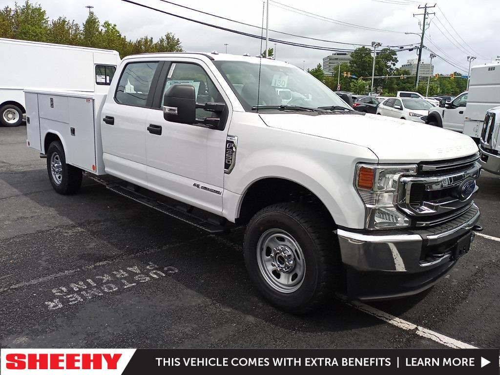 2021 Ford F-350 Crew Cab 4x4, Reading Service Body #GD09282 - photo 1