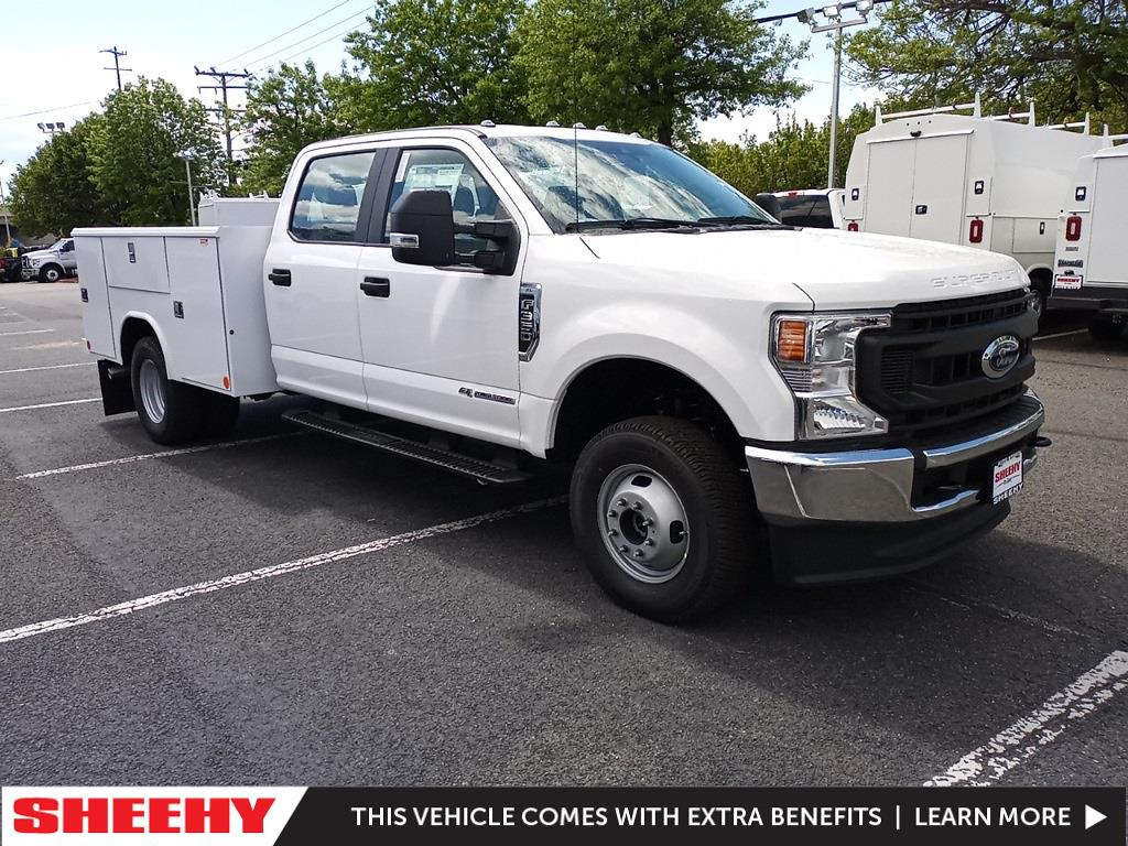 2021 Ford F-350 Crew Cab DRW 4x4, Reading Service Body #GD09283 - photo 1