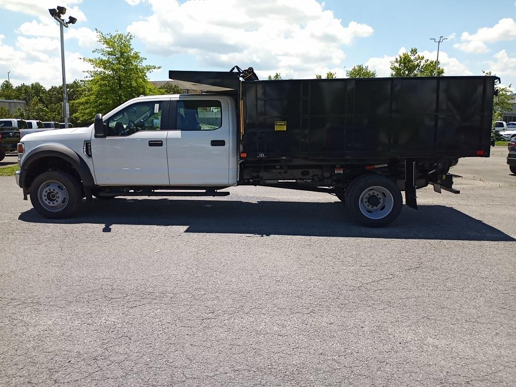 2021 Ford F-550 Crew Cab DRW 4x4, PJ's Landscape Dump #GD10356 - photo 10