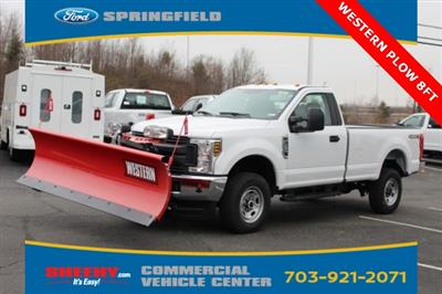 2019 F-250 Regular Cab 4x4,  Western Snowplow Pickup #GD16368 - photo 1