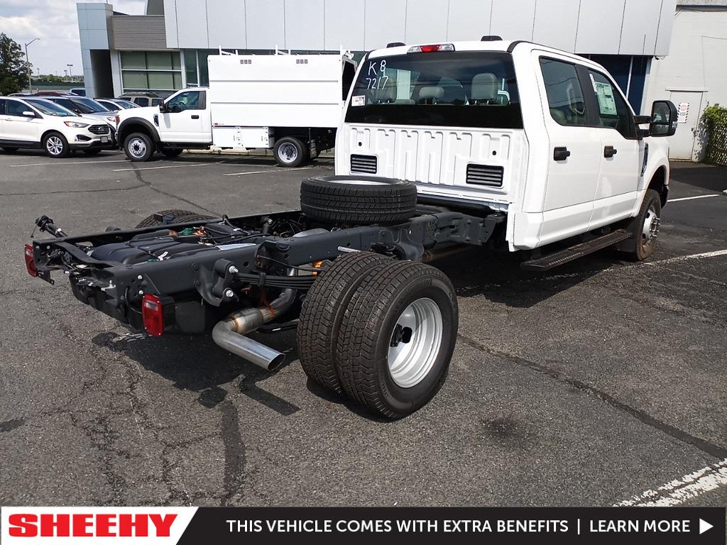 2021 Ford F-350 Crew Cab DRW 4x4, Cab Chassis #GD27217 - photo 1