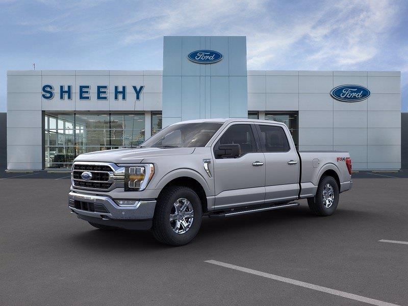 2021 Ford F-150 SuperCrew Cab 4x4, Pickup #GD31027 - photo 4