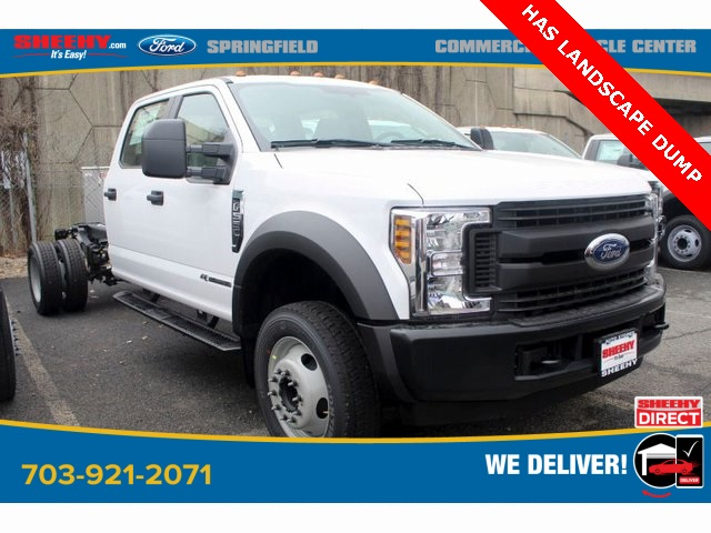2019 Ford F-550 Crew Cab DRW 4x2, Cab Chassis #GD55506 - photo 1