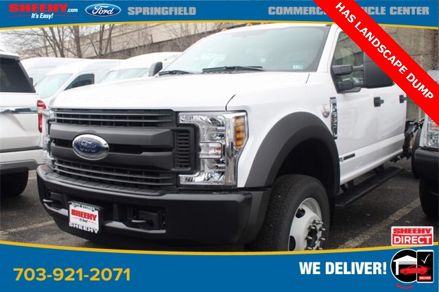 2019 F-550 Crew Cab DRW 4x2, Cab Chassis #GD55506 - photo 1