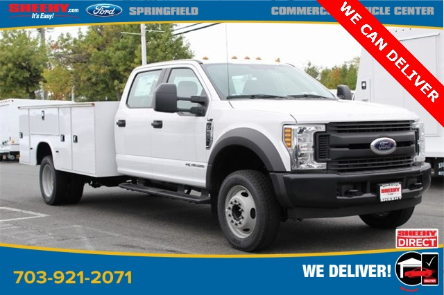 2019 F-550 Crew Cab DRW 4x2,  Knapheide Service Body #GD55507 - photo 1