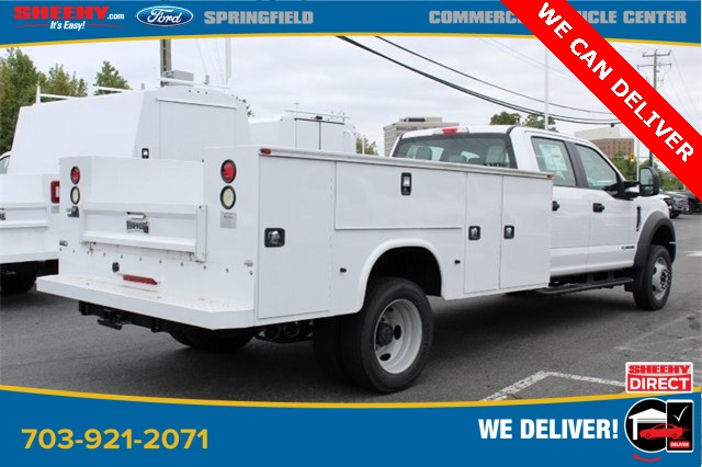 2019 F-550 Crew Cab DRW 4x2, Knapheide Steel Service Body #GD55507 - photo 2