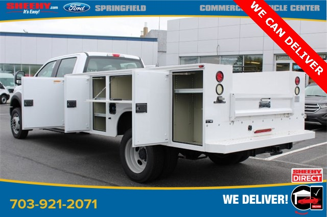 2019 F-550 Crew Cab DRW 4x2, Knapheide Steel Service Body #GD55507 - photo 8