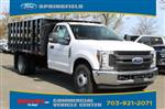 2019 F-350 Regular Cab DRW 4x2,  PJ's Stake Bed #GD72746 - photo 1