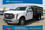 2019 F-350 Regular Cab DRW 4x2,  PJ's Stake Bed #GD72746 - photo 4