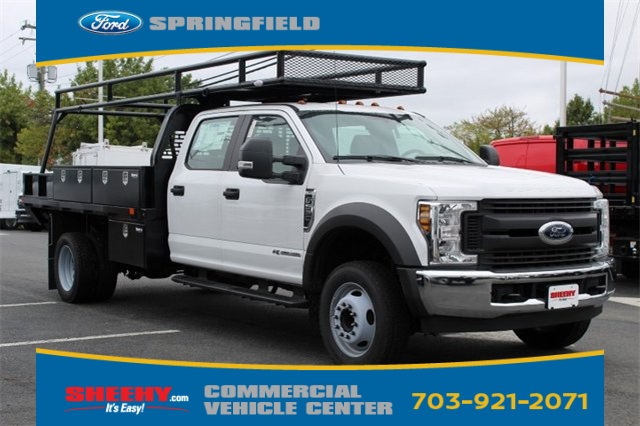 2019 F-550 Crew Cab DRW 4x2,  PJ's Platform Body #GD72762 - photo 1