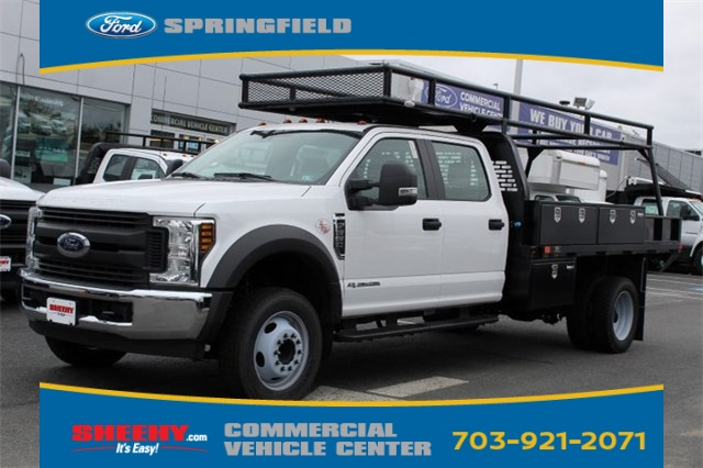 2019 F-550 Crew Cab DRW 4x2,  PJ's Platform Body #GD72762 - photo 3
