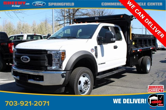 2019 F-450 Super Cab DRW 4x4, Godwin 184U Dump Body #GD96711 - photo 4