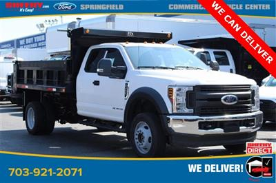 2019 F-450 Super Cab DRW 4x4,  Godwin 184U Dump Body #GD96711 - photo 1
