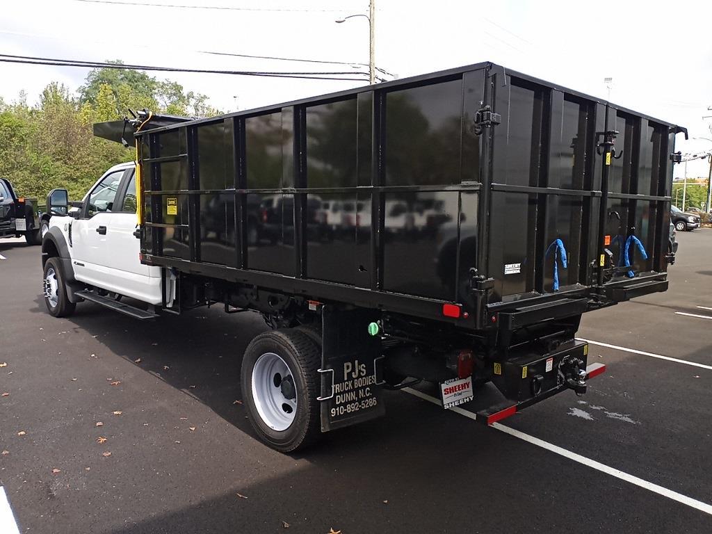 2021 F-450 Crew Cab DRW 4x4,  PJ's Truck Bodies Landscape Dump #GD98893 - photo 3