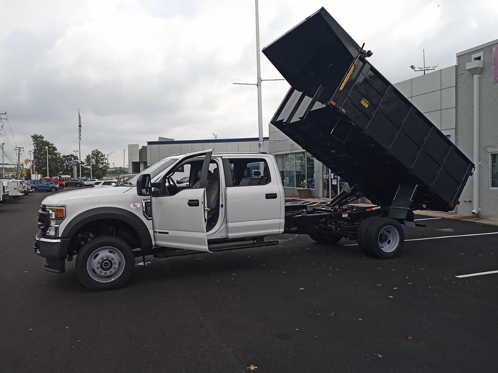 2021 F-450 Crew Cab DRW 4x4,  PJ's Truck Bodies Landscape Dump #GD98893 - photo 40