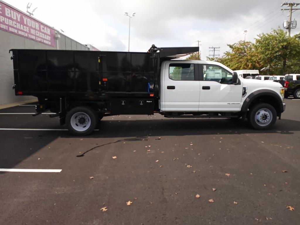2021 F-450 Crew Cab DRW 4x4,  PJ's Truck Bodies Landscape Dump #GD98893 - photo 8