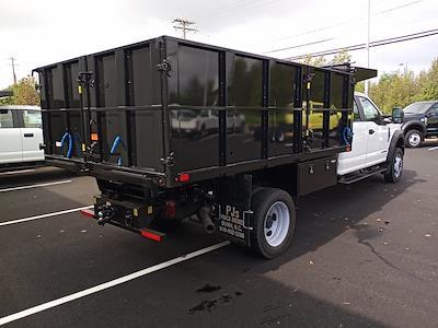 2021 F-450 Crew Cab DRW 4x4,  PJ's Truck Bodies Landscape Dump #GD98893 - photo 2