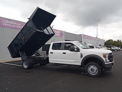 2021 F-450 Crew Cab DRW 4x4,  PJ's Truck Bodies Landscape Dump #GD98893 - photo 41