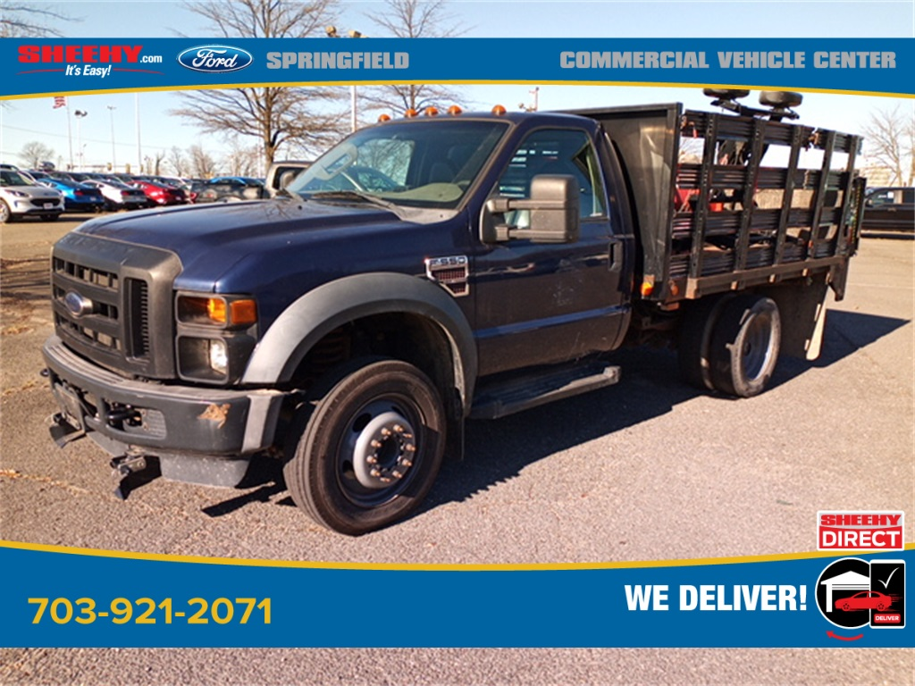 2010 Ford F-550 Regular Cab DRW 4x2, Stake Bed #GD99354A - photo 10