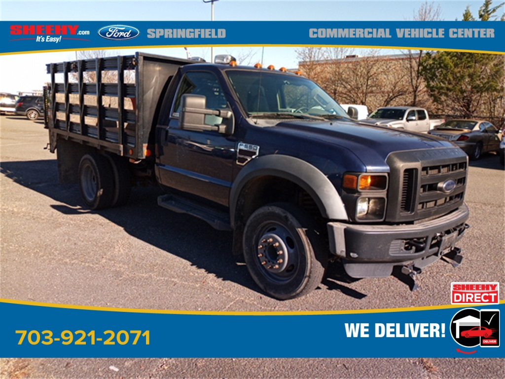 2010 Ford F-550 Regular Cab DRW 4x2, Stake Bed #GD99354A - photo 8