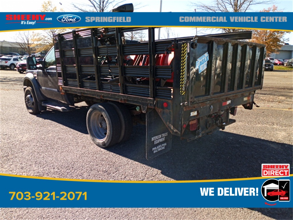 2010 Ford F-550 Regular Cab DRW 4x2, Stake Bed #GD99354A - photo 2