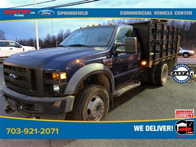2010 Ford F-550 Regular Cab DRW 4x2, Stake Bed #GD99354A - photo 1