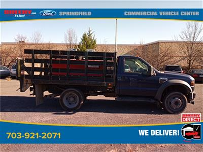 2010 Ford F-550 Regular Cab DRW 4x2, Stake Bed #GD99354A - photo 14