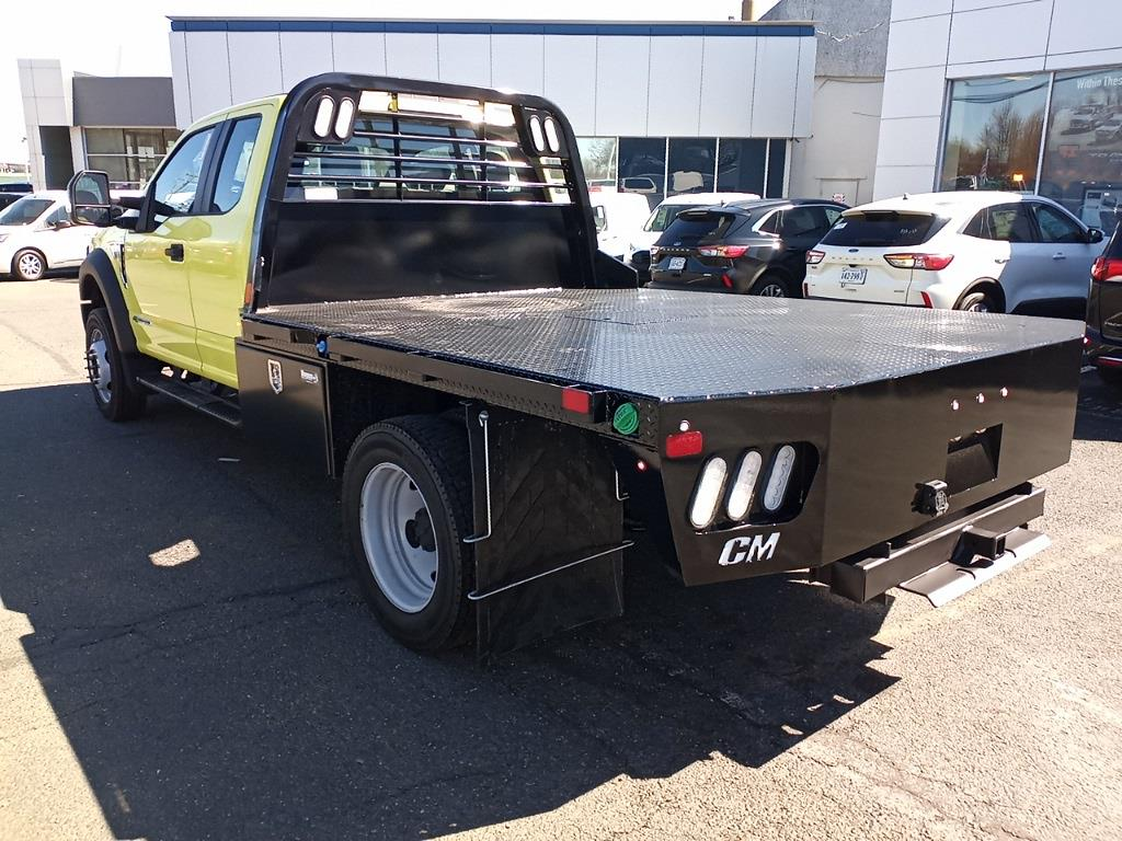 2020 Ford F-550 Super Cab DRW 4x4, CM Truck Beds RD Model Platform Body #GE10461 - photo 3