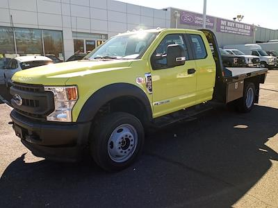 2020 Ford F-550 Super Cab DRW 4x4, CM Truck Beds RD Model Platform Body #GE10461 - photo 4