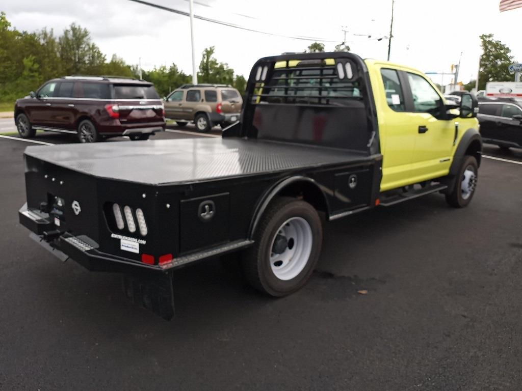 2020 F-550 Super Cab DRW 4x4,  CM Truck Beds SK Model Platform Body #GE10463 - photo 2