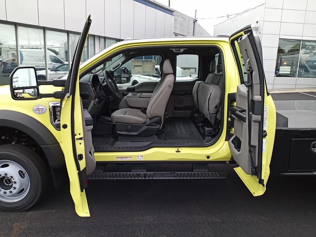 2020 F-550 Super Cab DRW 4x4,  CM Truck Beds SK Model Platform Body #GE10463 - photo 20
