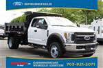 2019 F-550 Super Cab DRW 4x4,  Godwin 184U Dump Body #GE14042 - photo 1