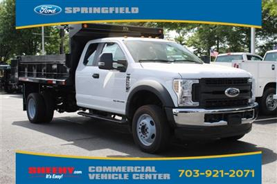 2019 F-550 Super Cab DRW 4x4,  Godwin 184U Dump Body #GE29025 - photo 1
