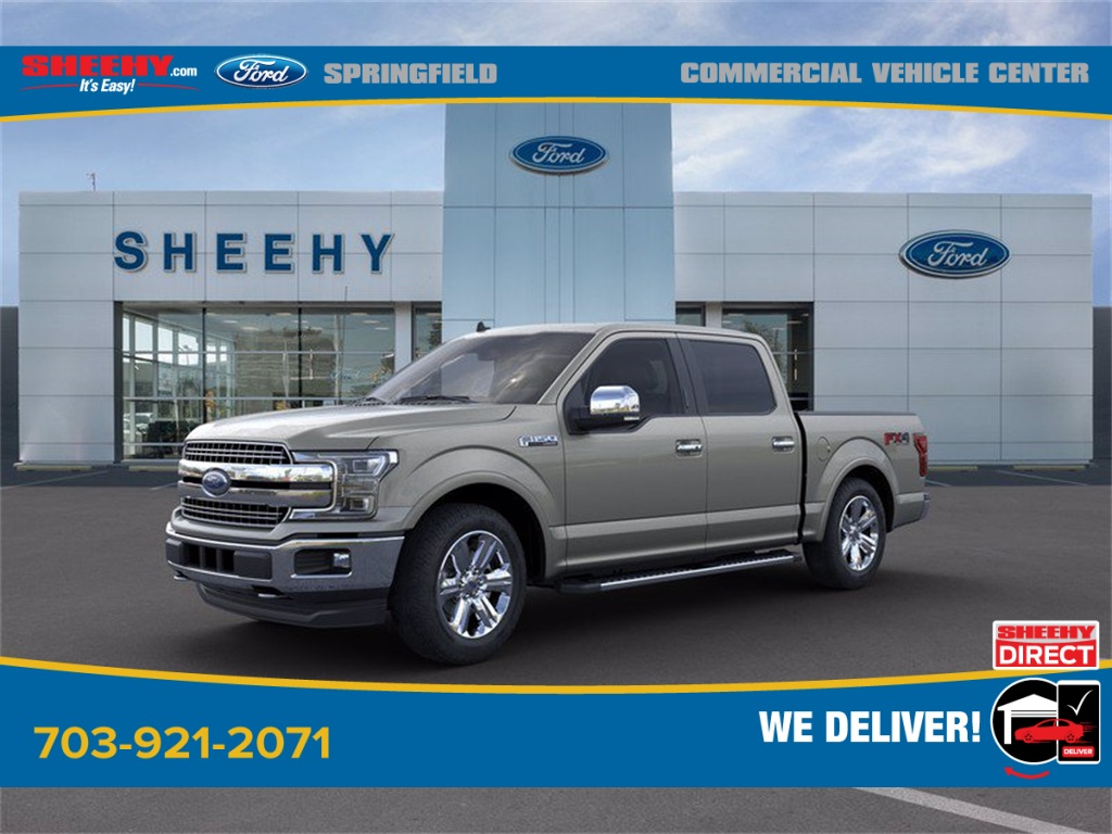 2020 Ford F-150 SuperCrew Cab 4x4, Pickup #GE33483 - photo 4